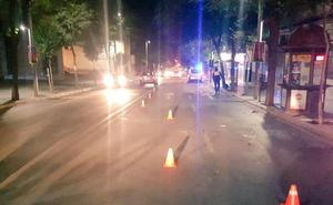 En estado crítico en Jaén una joven tras ser embestida su moto por un conductor que ha dado positivo en alcohol