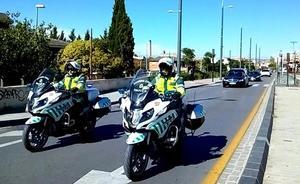 Trasladan a la Comandancia de Granada al guardia civil fallecido