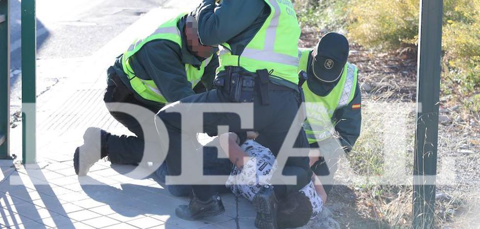 El homicida mató al guardia civil con su arma reglamentaria