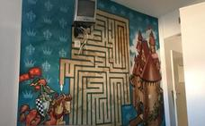 Más de 50 artistas llenan de color las paredes del centro de Pediatría del hospital de Jaén