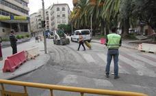 Problemas de tráfico con el corte de Doctor Eduardo Arroyo en Jaén