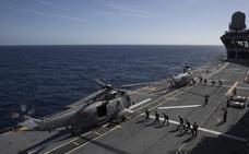Así es la vida a bordo del portaviones 'Juan Carlos I'