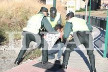 Las fotos de la detención en Granada del presunto homicida del guardia civil fallecido