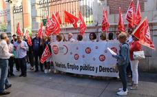 UGT se moviliza contra la privatización del servicio de técnico en integración social