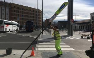 La plaza de Andaluces pierde los aparcamientos con su nueva imagen