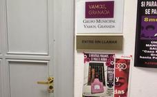 Cambiarán la cerradura de 'Vamos, Granada' tras la entrada de un exsecretario a la oficina del grupo