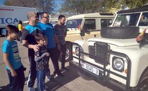 Éxito de la concentración de vehículos Land Rover