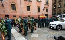Funeral en la Catedral de Granada por el guardia civil asesinado en Huétor Vega