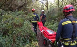 Aparece un joven muerto en las cuevas de la Fuente del Avellano