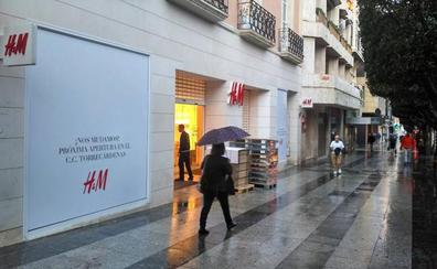 Cierre definitivo de H&M en el centro de Almería