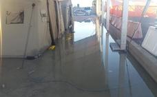 El campamento del puerto vuelve a ser una piscina