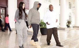 Kanye West, ahora con el dictador de Uganda