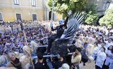 Daenerys Targaryen y Jon Nieve celebran San Lucas en Granada