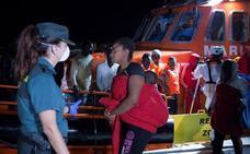 La llegada de inmigrantes irregulares al puerto de Motril se cuadruplica