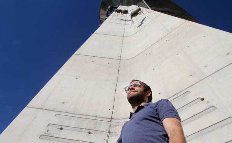 Javi y sus Robots, el granadino de El Hormiguero, en el Parque de las Ciencias
