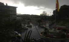 Comienza el temporal en la Costa, que está en alerta naranja por lluvias y tormentas