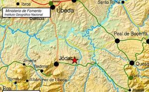 Enjambre sísmico en Jaén