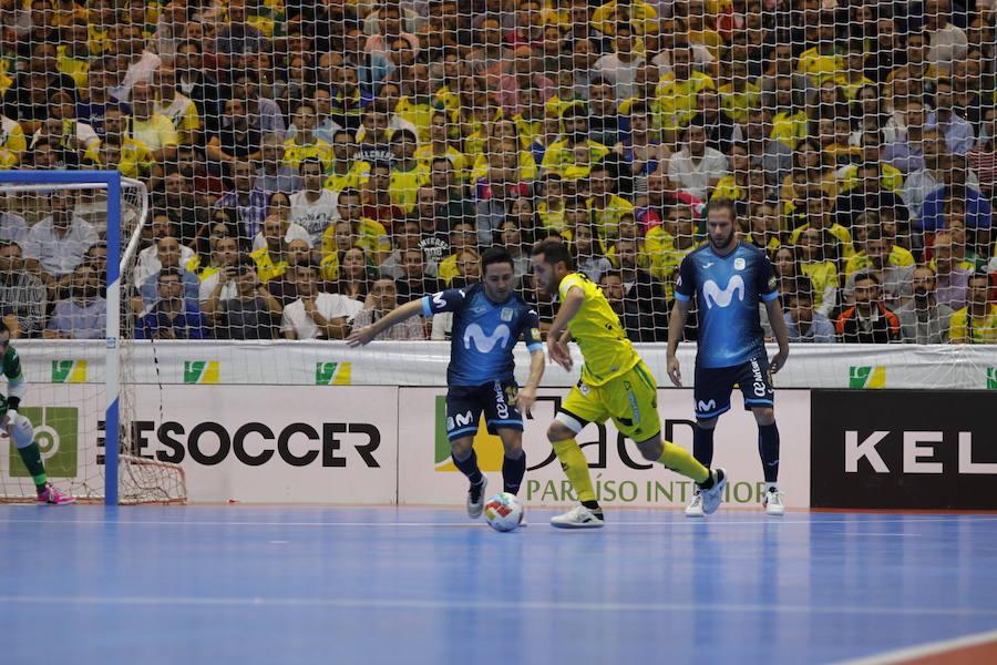 Jaén FS - Movistar Inter: Las mejores imágenes del partido