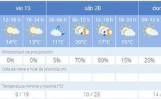 San Lucas se despedirá con lluvia mañana y el domingo