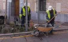 Emasagra renuevas las redes en el antiguo barro de Santa Adela de Alhendín