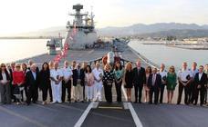 La visita del portaviones Juan Carlos I deja una promoción publicitaria para Motril que valdría más de un millón de euros