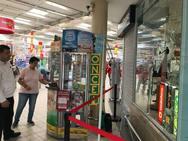 Robo en un tienda de móviles en Motril
