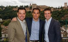 Pablo Casado cierra el acto de presentación de los cabeza de lista para las elecciones del 2-D en Granada