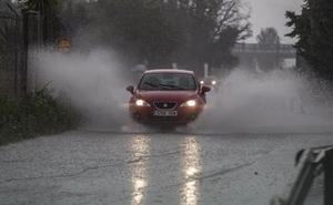Almería se despierta en alerta naranja por riesgo de lluvias muy fuertes