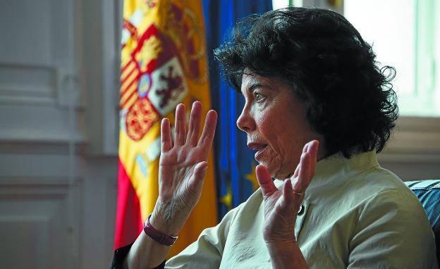 Isabel Celaá: «No contemplamos la falta de acuerdos para los Presupuestos»