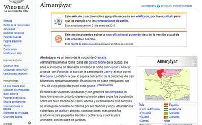 Wikipedia deja de definir Almanjáyar como «la zona más peligrosa de España»
