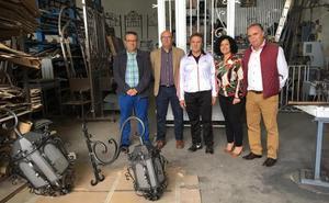 Apoyo a 'Artesanos del hierro Serrano' de Torredonjimeno