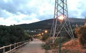 Nueva iluminación de la Vía Verde