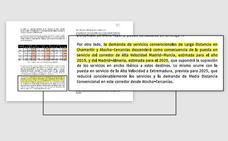 Fomento revela en un proyecto oficial que el AVE no llegará a Almería hasta 2025