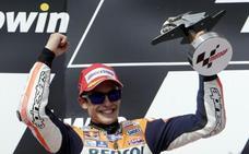 La trayectoria demoledora de Márquez en MotoGP