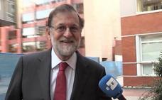 Rajoy se incorpora a su plaza en el Registro Mercantil de Madrid