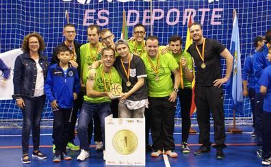 El CD Ali-Up de Bailén, campeón de España de baloncesto