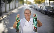 La abuela atleta: «No le doy importancia a los kilómetros, sólo pienso que quiero hacer las carreras»