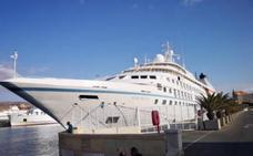 Un crucero 'enamorado' de Almería