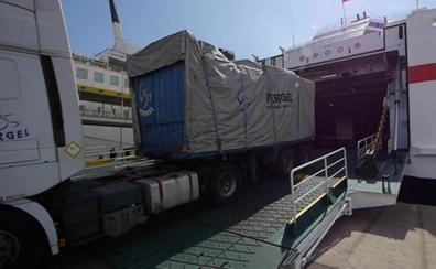 Las exportaciones en Almería de productos agroalimentarios por mar ascendieron a las 15.200 toneladas en 2017