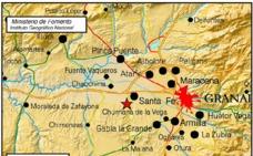 Un nuevo terremoto de 3,1 grados hace temblar a Granada y parte del Cinturón