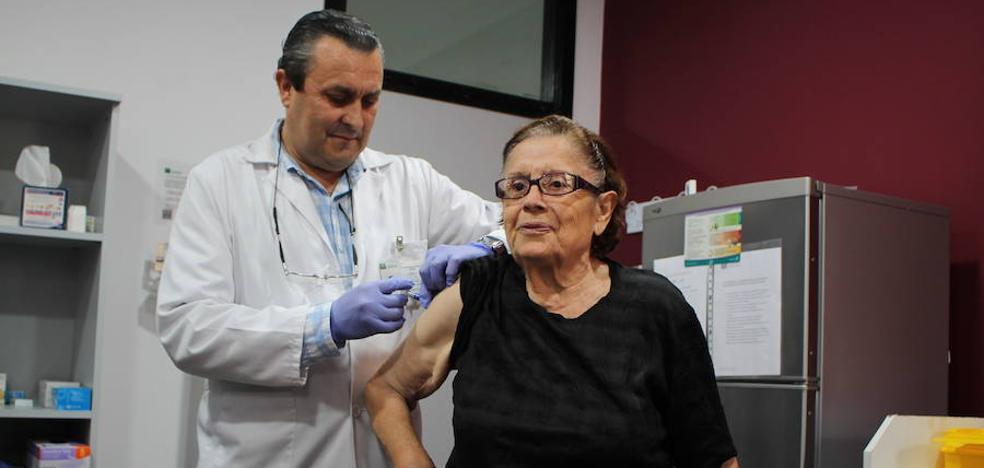 Almería se protege contra la gripe