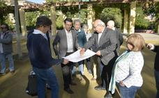 Las obras de mejora de la plaza de la Concordia de Granada comenzarán a inicios de año