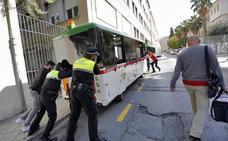 El Ayuntamiento de Granada da diez días a la empresa del tren turístico para que aclare la última avería