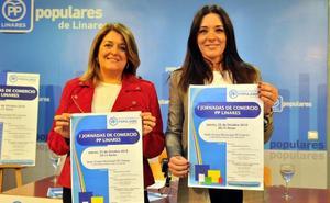 El PP de Linares resalta su apoyo al comercio con un foro que dé cobijo al sector
