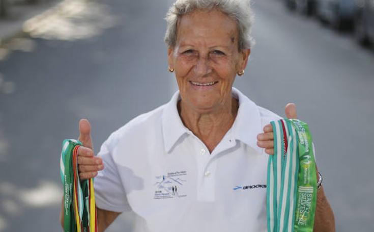 Así es Pilar Moleón, la abuela atleta