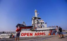 Open Arms se va de Motril porque aún no se ha firmado el acuerdo con Salvamento