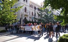 Guardia Civil y Policía exigen en Granada una equiparación salarial real