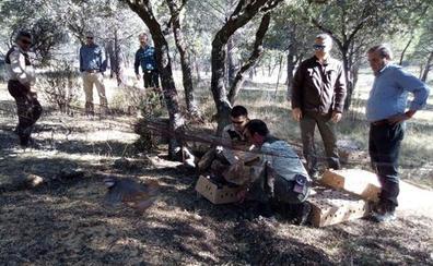 Sueltan 250 ejemplares de perdiz roja para reforzar la población en el Parque Natural de Despeñaperros