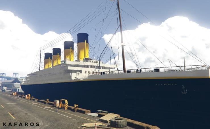 Descubre la réplica del Titanic que dará la vuelta al mundo