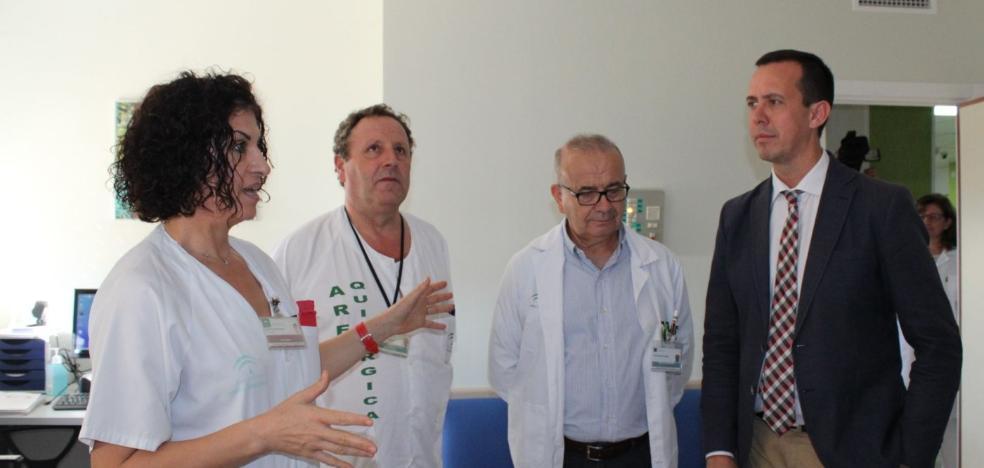 Finalizan las obras de Neurocirugía, el ala más antigua de Torrecárdenas